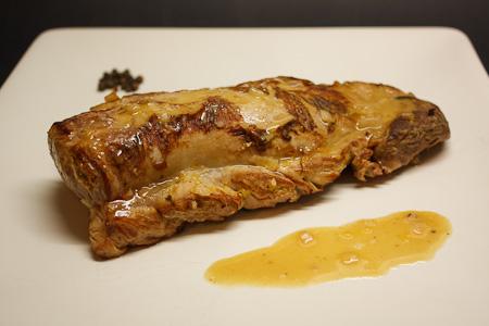 filetto di maiale alla senape
