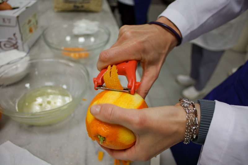 zeste d'arancia