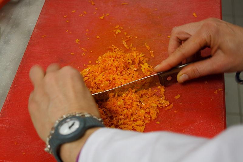 le zeste d'arancia fatte a mano