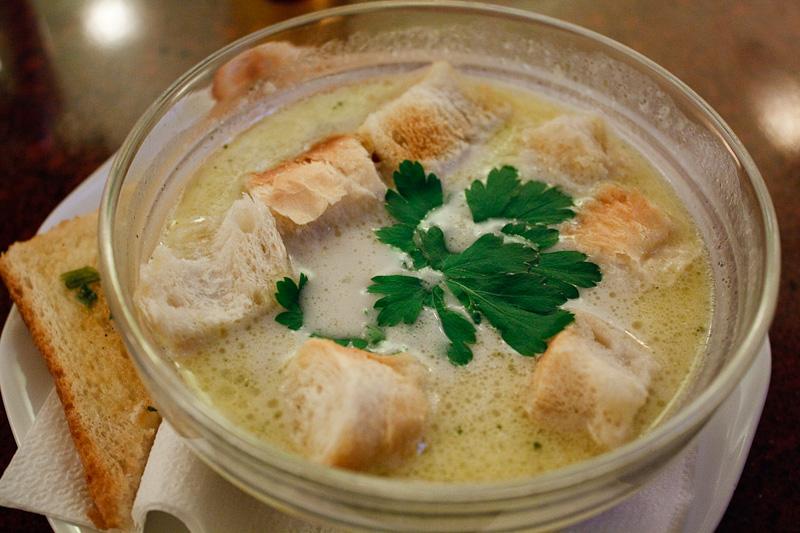 zuppa di funghi - Bar Bar
