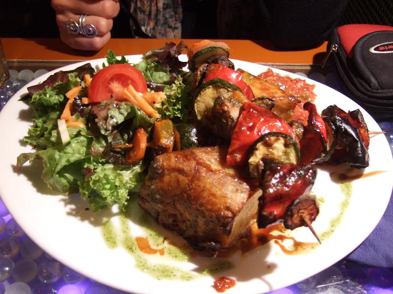 kebab vegetariano - Lehka Hlava