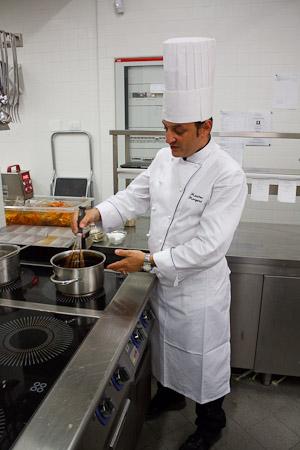 lo chef Massimo Mangano