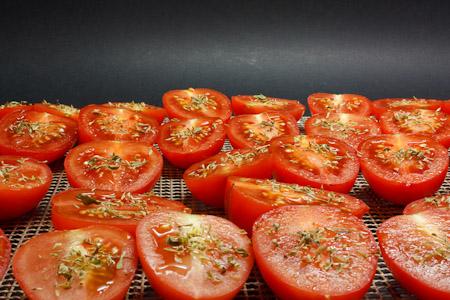 essiccatura - pomodori soleggiati