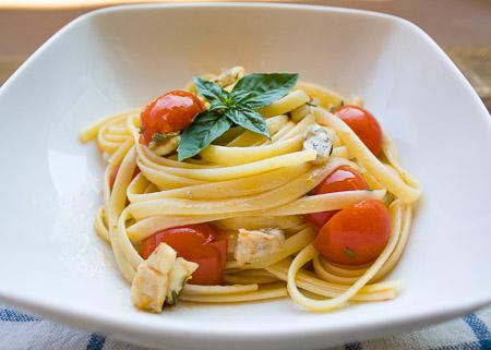 Spaghetti ai profumi dell'isola