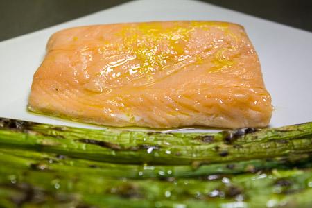 salmone sous vide a 47 gradi
