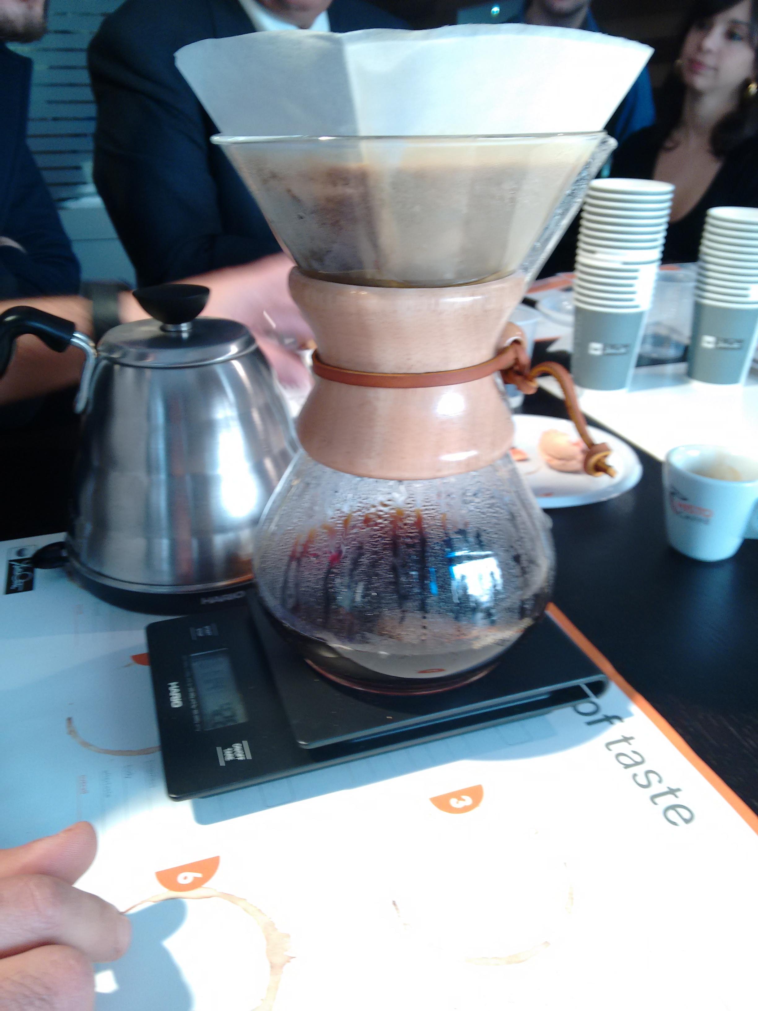lezione sul caffè